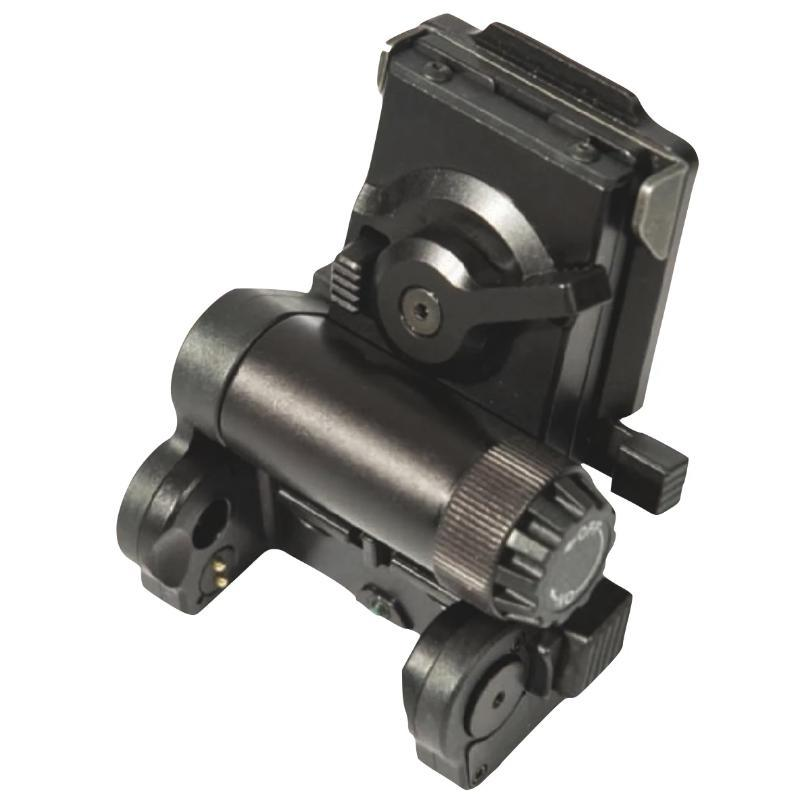 Black; Wilcox NVG Helmet Mount for ANVIS F4949 NVG'S - HCC Tactical