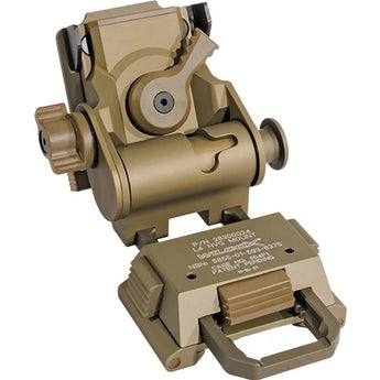 Tan; Wilcox L4 G24 NVG Helmet Mount - HCC Tactical