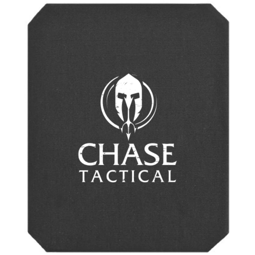 Black; Chase Tactical Level III BackPack Armor (Rifle) - HCC Tactical