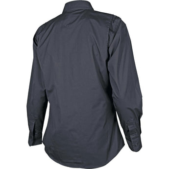 alt - Black; Tru-Spec LS Dress Shirt for Women - HCC Tactical