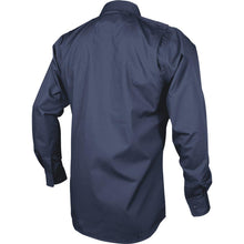 alt - Navy; Tru-Spec LS Dress Shirt - HCC Tactical