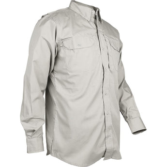 Khaki; Tru-Spec LS Dress Shirt - HCC Tactical