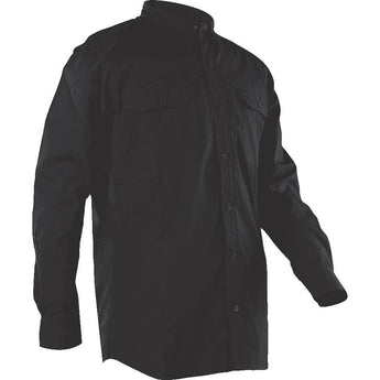 Black; Tru-Spec LS Dress Shirt - HCC Tactical