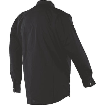 alt - Black; Tru-Spec LS Dress Shirt - HCC Tactical