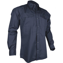 Navy; Tru-Spec LS Dress Shirt - HCC Tactical