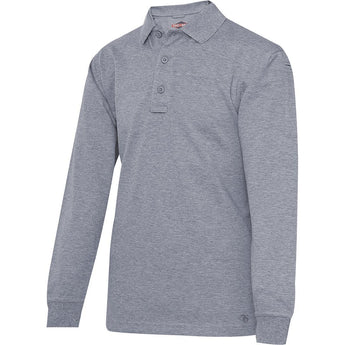 Heather Gray; Tru-Spec LS Original Polo - HCC Tactical