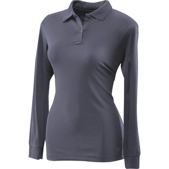 Navy; Tru-Spec LS Performance Polo for Women - HCC Tactical