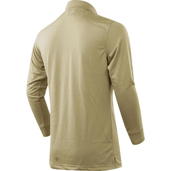 alt - Silver Tan; Tru-Spec LS Performance Polo for Women - HCC Tactical