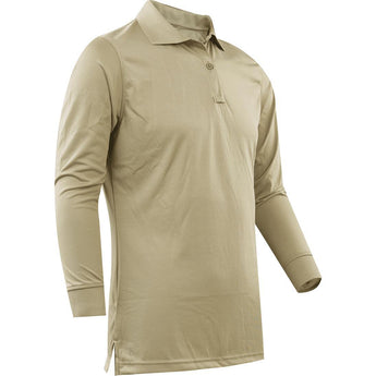 Silver Tan; Tru-Spec LS Performance Polo - HCC Tactical