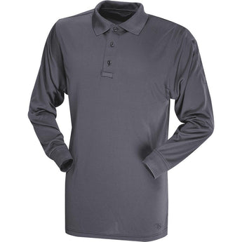 Charcoal Gray; Tru-Spec LS Performance Polo - HCC Tactical