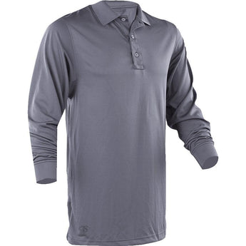 Steel Gray; Tru-Spec LS Performance Polo - HCC Tactical