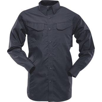 Navy; Tru-Spec LS Ultralight Field Shirt - HCC Tactical