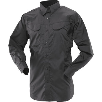 Black; Tru-Spec LS Ultralight Field Shirt - HCC Tactical