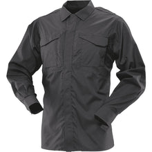 Black; Tru-Spec LS Ultralight Uniform Shirt - HCC Tactical