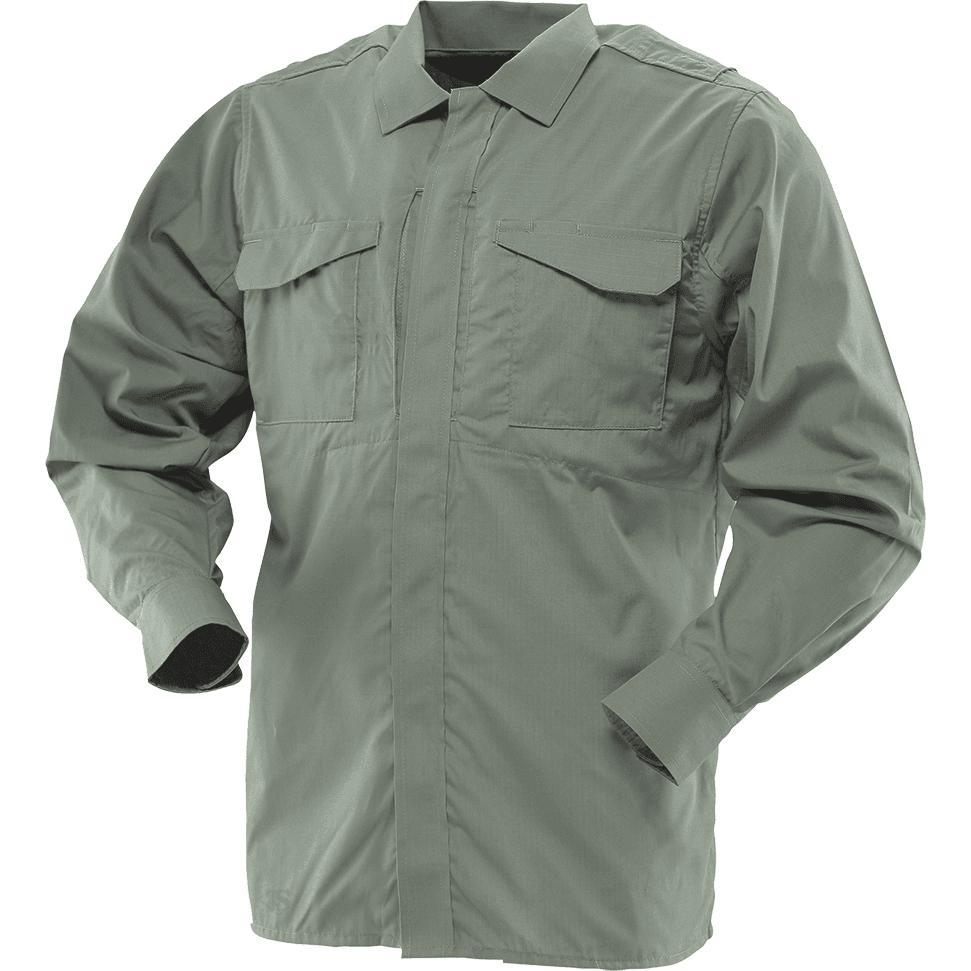 OD Green; Tru-Spec LS Ultralight Uniform Shirt - HCC Tactical