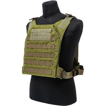 OD Green; Grey Ghost Gear Minimalist Plate Carrier - HCC Tactical