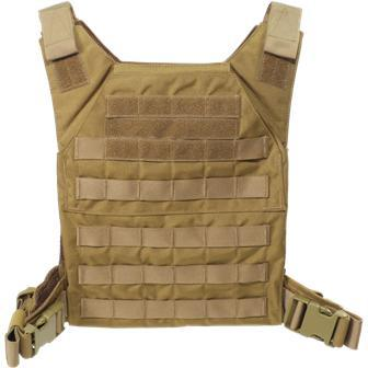 alt - Coyote; Grey Ghost Gear Minimalist Plate Carrier - HCC Tactical