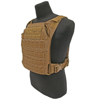 Coyote; Grey Ghost Gear Minimalist Plate Carrier - HCC Tactical