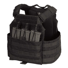 Black; Chase Tactical Modular Enhanced Armor Plate Carrier (MEAC) - HCC Tactical