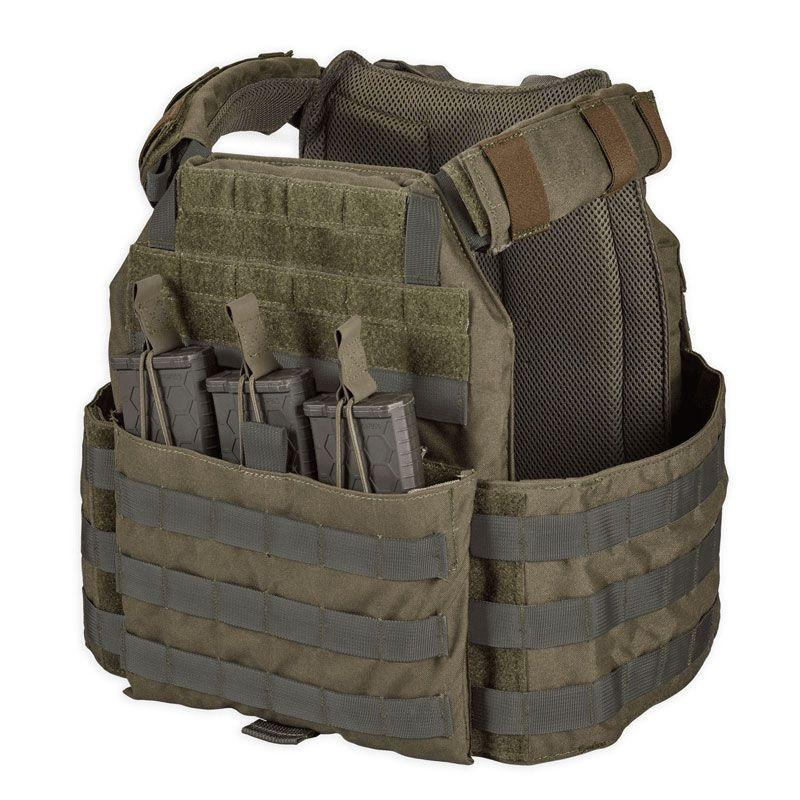 Ranger Green; Chase Tactical Modular Enhanced Releasable Armor Plate Carrier (MEAC-R) - HCC Tactical
