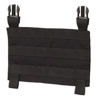 Black; Chase Tactical MOLLE Clip Placard - HCC Tactical