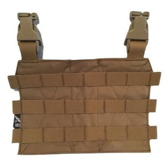 Coyote Brown; HRT Tactical - MOLLE Placard - HCC Tactical