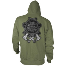 Military Green; Pipe Hitters Union Not My Own - Hoodie - HCC Tactical