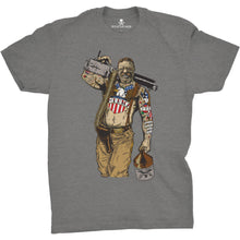 Gray; Pipe Hitters Union Original Pipe Hitter - Teddy Tee - HCC Tactical