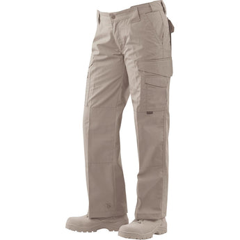 Khaki; Tru-Spec Original Tactical Pants for Women - HCC Tactical