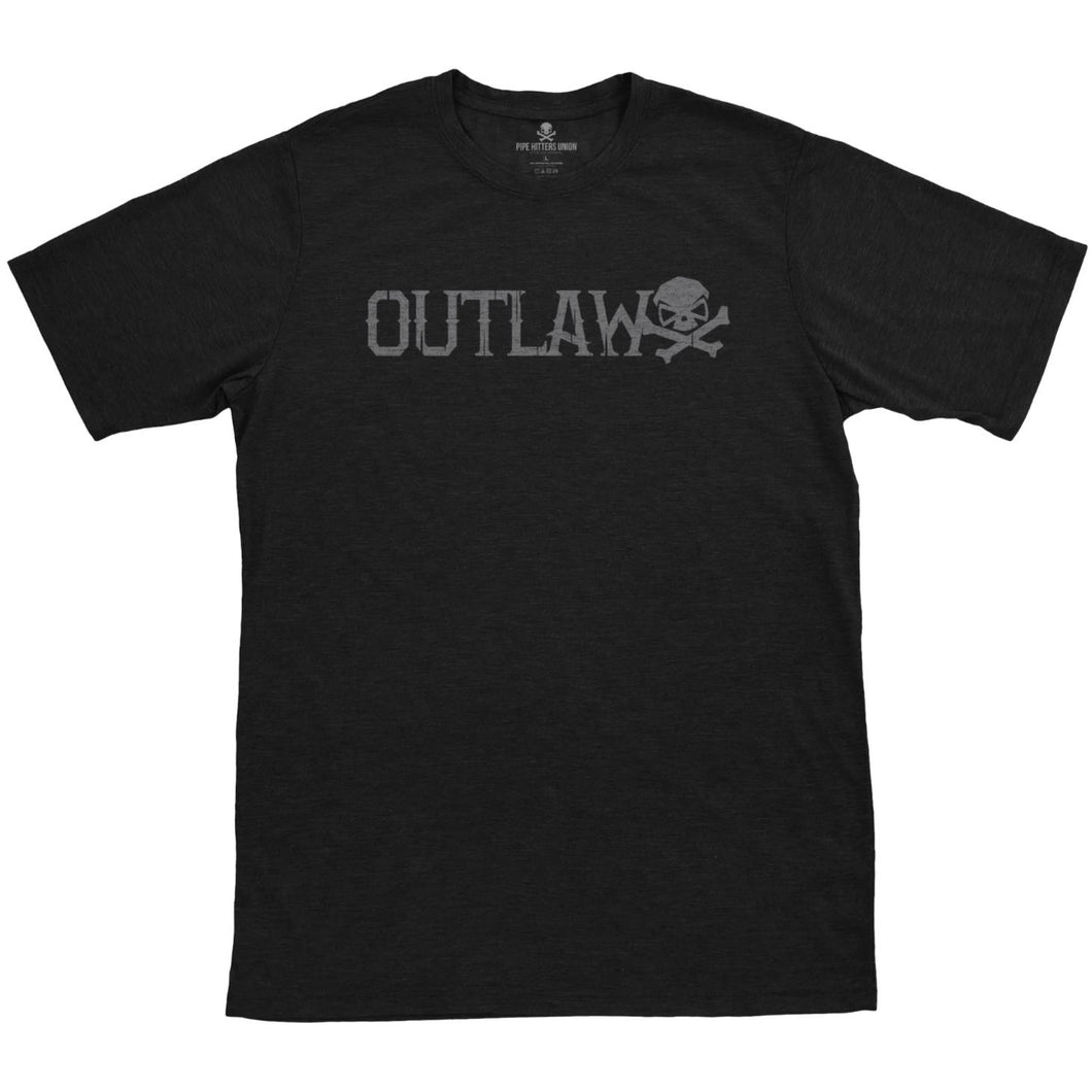 Black; Pipe Hitters Union Outlaw Tee - HCC Tactical