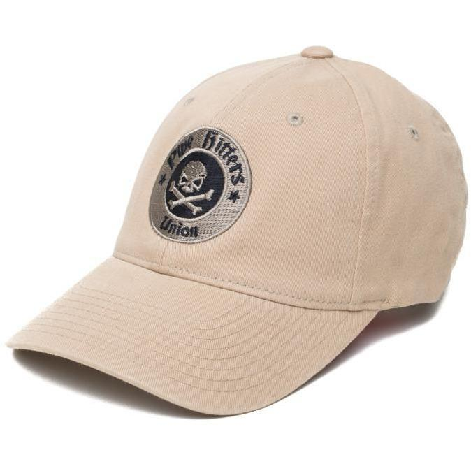 Khaki; Pipe Hitters Union PHU Shield Flexfit Hat - HCC Tactical