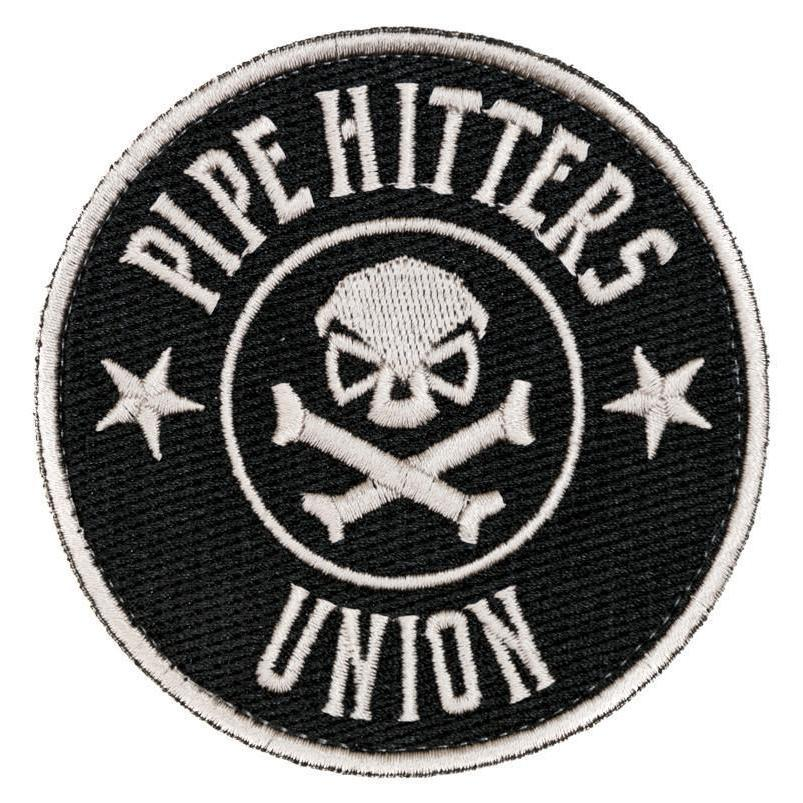 Black / White; Pipe Hitters Union PHU Shield - HCC Tactical