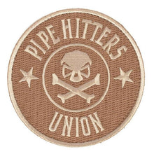 Khaki; Pipe Hitters Union PHU Shield - HCC Tactical
