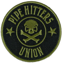 Black / Olive; Pipe Hitters Union PHU Shield - HCC Tactical