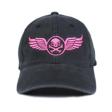 alt - Black / Pink; Pipe Hitters Union Wings Flexifit Hat - HCC Tactical