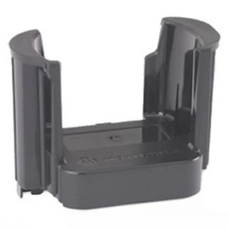 Black; Motorola Plastic Insert For Single Unit Charger Adapter - HCC Tactical