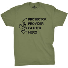 Military Green; Pipe Hitters Union PPFH Skull (Provider) - HCC Tactical