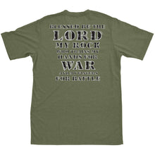 alt - Military Green; Pipe Hitters Union Psalm 144.1 Tee - HCC Tactical