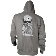 Gray; Pipe Hitters union Psalm 55:15 - Hoodie - HCC Tactical