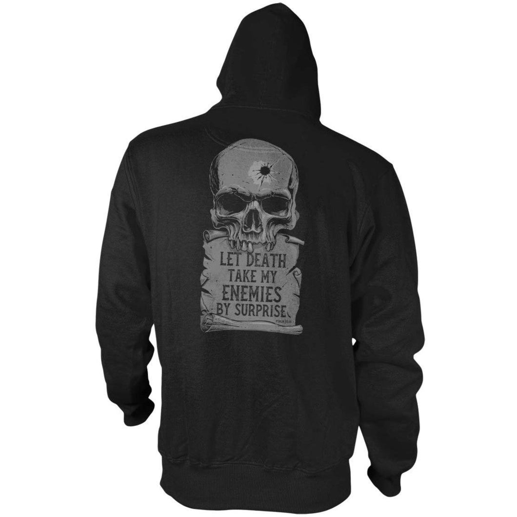 Black; Pipe Hitters union Psalm 55:15 - Hoodie - HCC Tactical