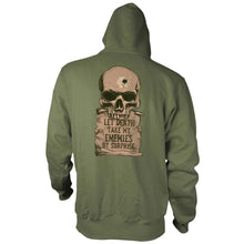 Military Green; Pipe Hitters union Psalm 55:15 - Hoodie - HCC Tactical