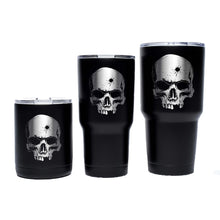 Stainless / Black; Pipe Hitters Union Psalm 55:15 - Tumblers - HCC Tactical