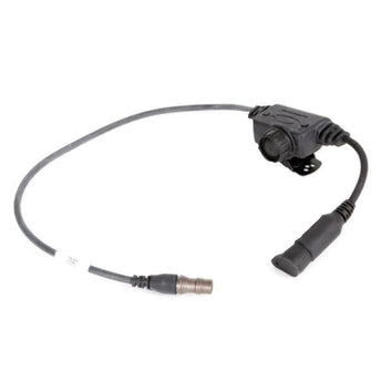 Black; Ops-Core Radio PTT Cable (Modular) - HCC Tactical