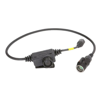 Black; Ops-Core Radio PTT Cable - HCC Tactical