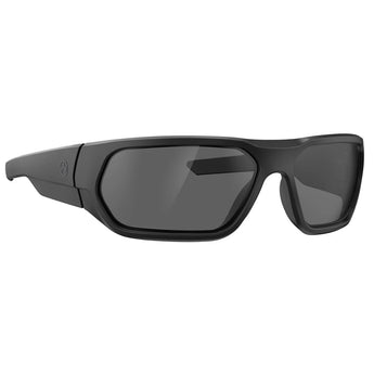Matte Black Frame / Gray Lens / No Mirror; MagPul Radius - HCC Tactical
