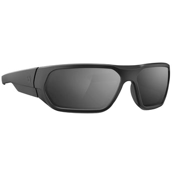 Matte Black Frame / Gray Lens / Silver Mirror; MagPul Radius - HCC Tactical