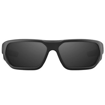 alt - Matte Black Frame / Gray Lens / Silver Mirror; MagPul Radius - HCC Tactical