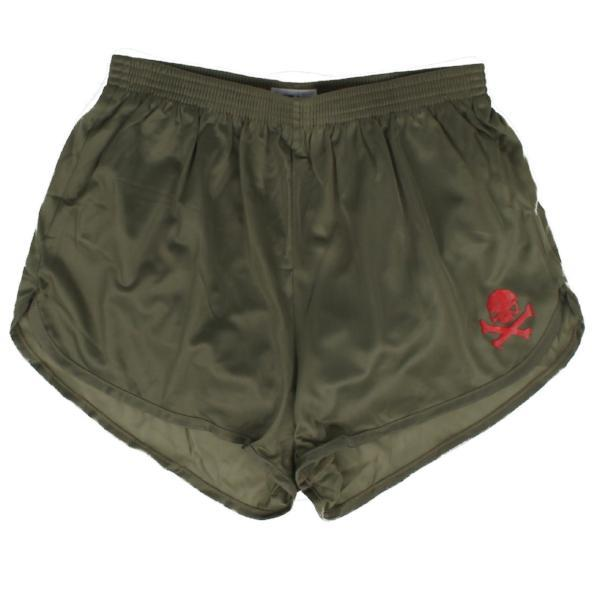 Olive / Red; Pipe Hitters Union Ranger Panties - HCC Tactical
