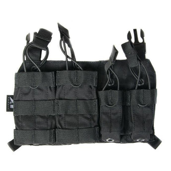 Black; HRT Tactical Response Placard - HCC Tactical