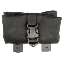 Black; Grey Ghost Gear Roll-Up Dump Pouch - Laminate - HCC Tactical